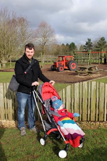 Play Tractor Playground Burford Garden Centre