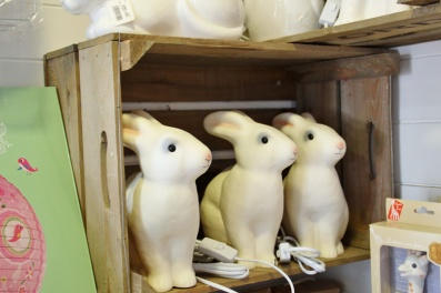 Burford Garden Company Toy Shop Bunny Lamp