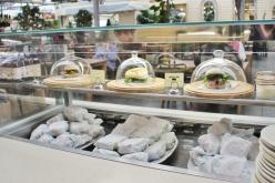 Burford Garden Company Glass Cloche Sandwich Cafe