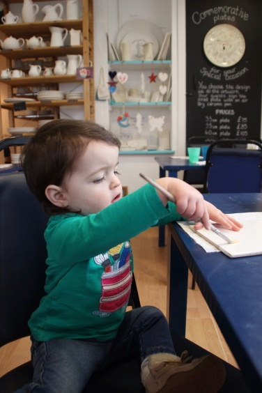 Creative Cafe Narberth Pottery Painting