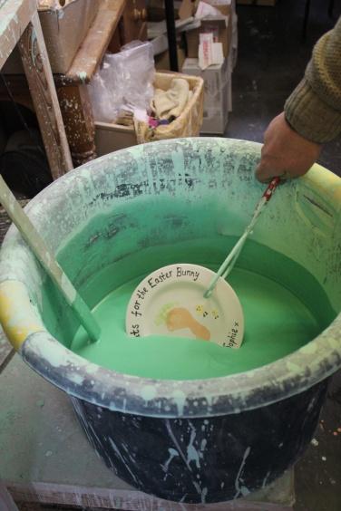 Creative Cafe Narberth Pottery Painting Glazing Glaze