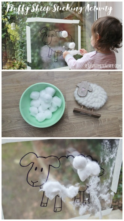 Fluffy Sheep Sticking Activity