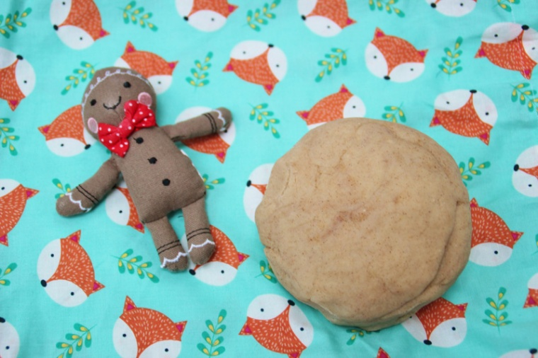 Gingerbread-Playdough