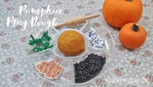 pumpkin-playdough