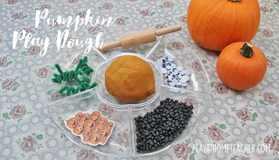 pumpkin-playdough