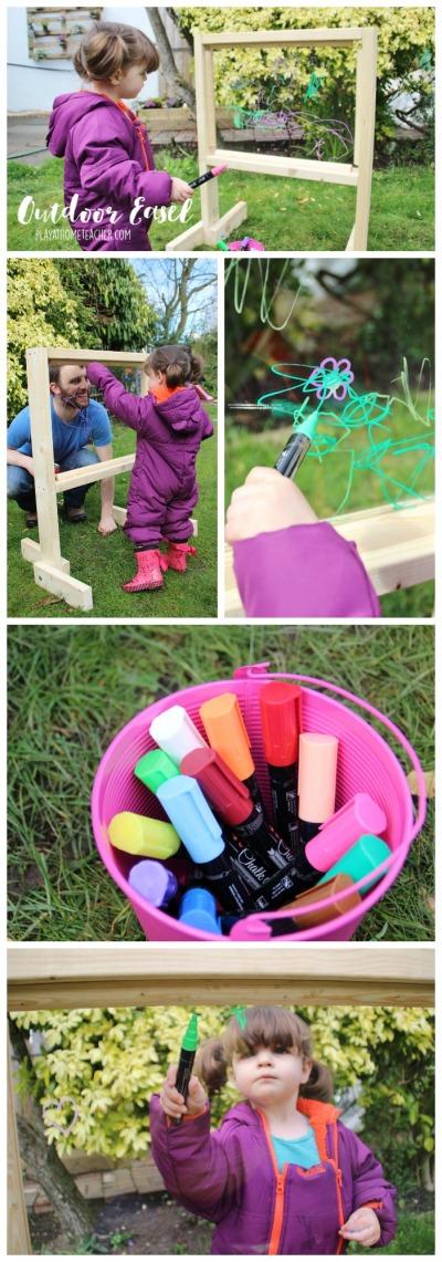 acrylic-plexiglass-perspex-outdoor-easel-DIY-Tutorial-Pinterest