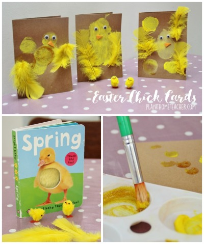 Easter Chick Cards Pin it